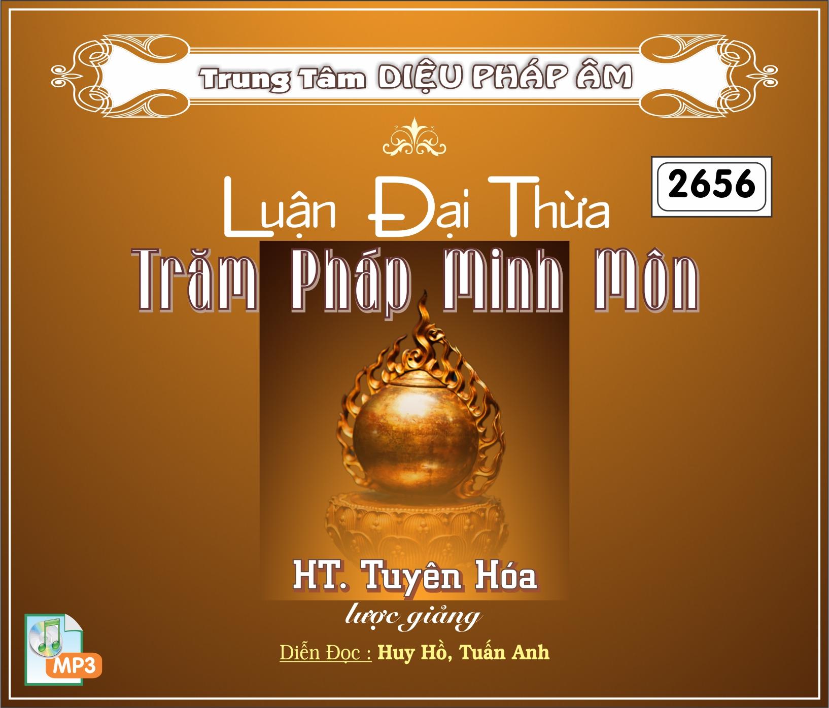Luận Đại Thừa Trăm Pháp Minh Môn