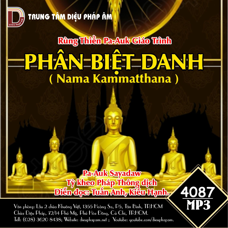 Giáo Trình Rừng Thiền Pa-Auk - Phân Biệt Danh (Nāma Kammaṭṭhāna)