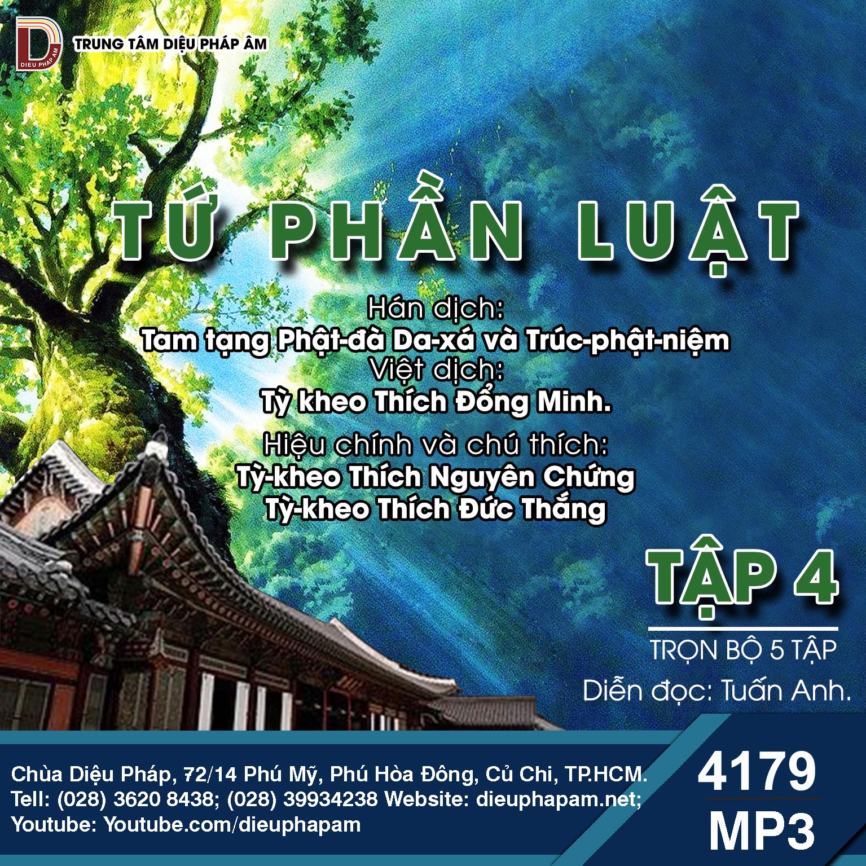 Tiểu Tạng Thanh Văn - Luật Tứ Phần Tập 4
